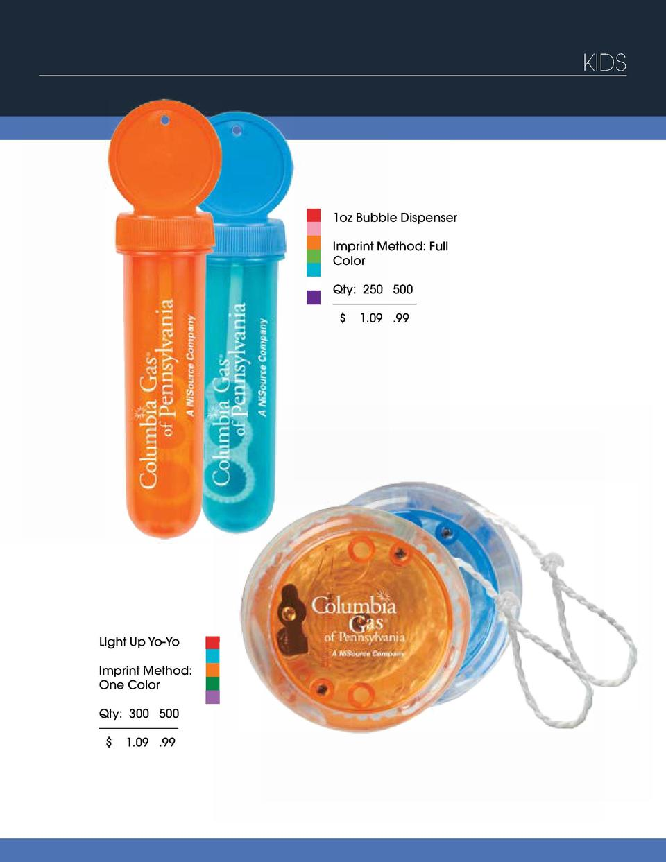 KIDS  Amazing Brownie Bites Combo  1oz Bubble Dispenser  Imprint Method  Digital  Imprint Method  Full Color  Please conta...